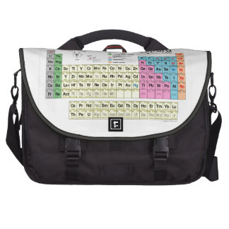 Periodic Table of the Elements Laptop Bags