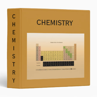 Periodic Table of the Elements Notebook by Janz Binder