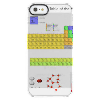 Periodic Table of the Elements Poster Science Uncommon Clearly™ Deflector iPhone 5 Case