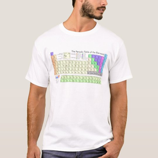 Periodic Table of the Elements T-Shirt