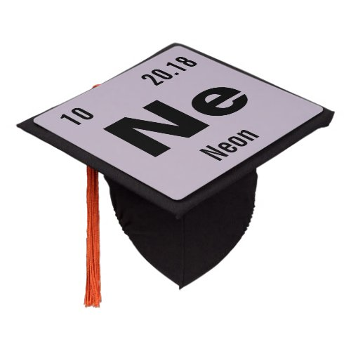 Periodic Table of the Elements Template Graduation Cap Topper