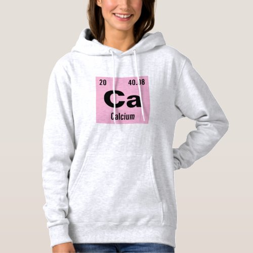 Periodic Table of the Elements Template Hoodie