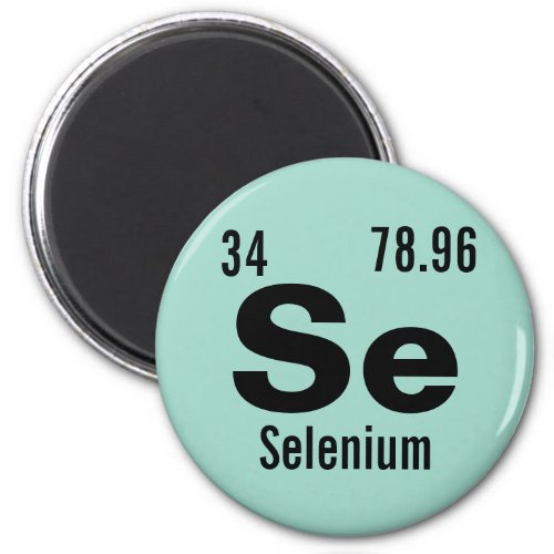 Periodic Table of the Elements Template Magnet