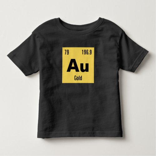Periodic Table of the Elements Template Toddler T-shirt