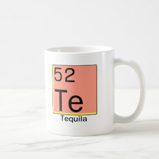 Periodic Table of the Foodie Elements: Tequila Coffee Mug