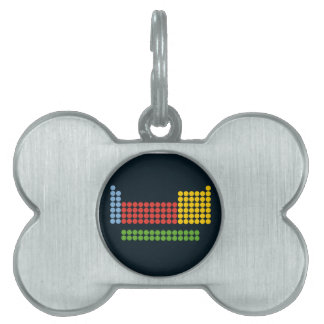 Periodic table pet ID tag