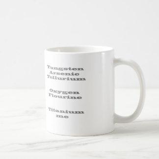 Periodic Table Secret Code Coffee Mug