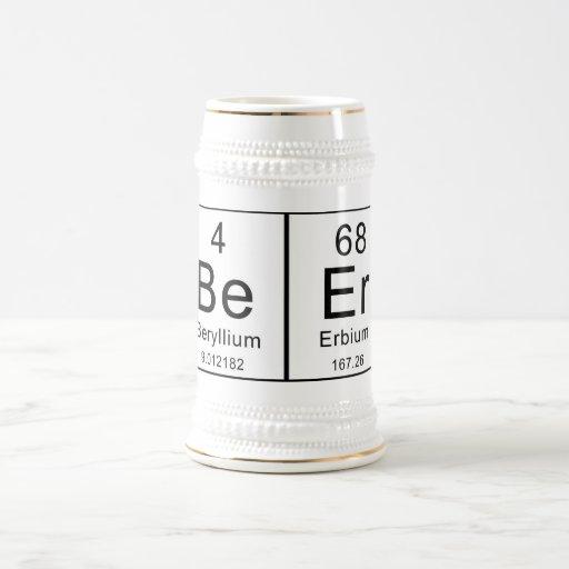 Periodic Table Spells Beer! Coffee Mug
