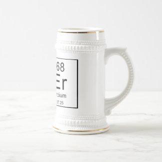Periodic Table Spells Beer Coffee Mug