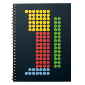 Periodic table spiral note books
