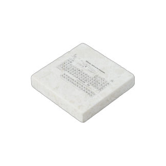Periodic Table Stone Magnet