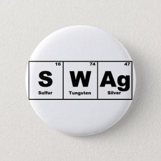 Periodic Table Swag Button