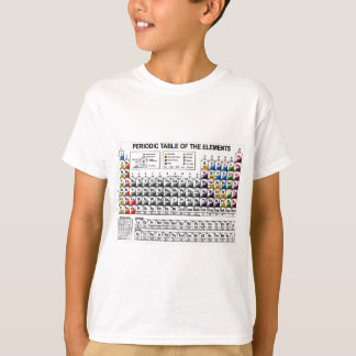 Periodic table t shirts shirt designs zazzle periodic table t shirt urtaz Images
