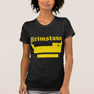 Periodic Table T-Shirt featuring brimstone