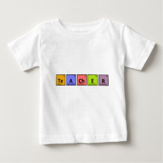 Periodic Table Teacher Appreciation Baby T-Shirt