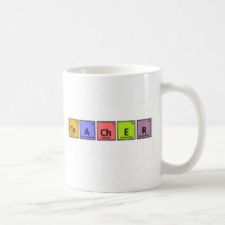 Periodic Table Teacher Appreciation Classic White Coffee Mug
