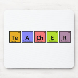 Periodic Table Teacher Appreciation Mouse Pad