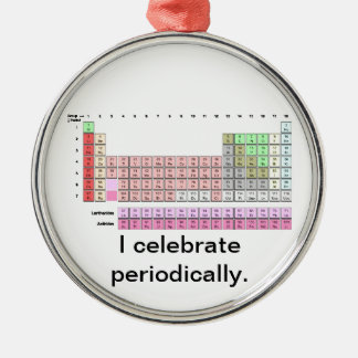 Periodically Metal Ornament