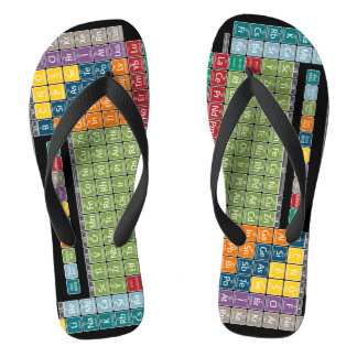 Periodically Periodic Table of Elements - Students Flip Flops
