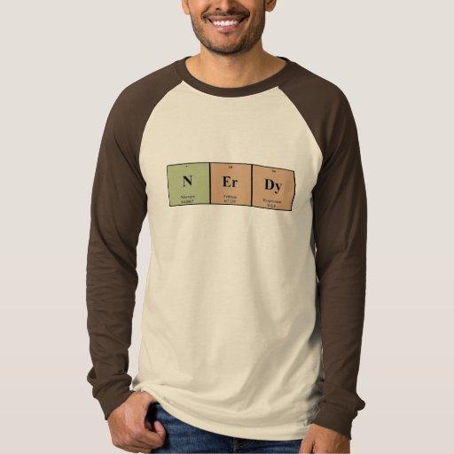 Periódicamente Nerdy Camisas