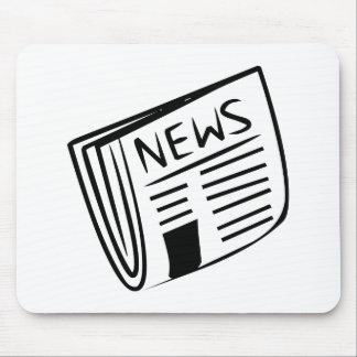 Periódico Alfombrilla De Ratón