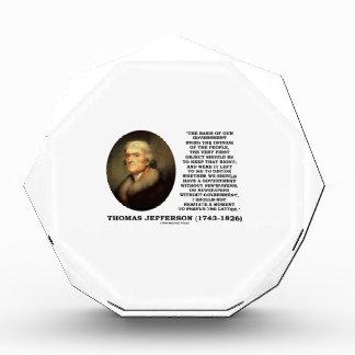 Periódicos de la opinión de Thomas Jefferson sin