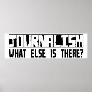 ¿Periodismo qué más está allí? Póster
