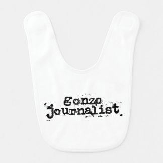 Periodista de Gonzo Baberos De Bebé