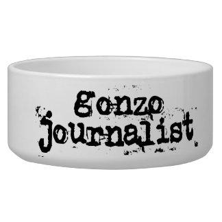 Periodista de Gonzo Tazon Para Perro