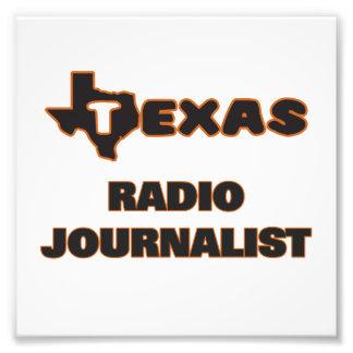 Periodista de radio de Tejas Fotografía