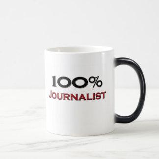 Periodista del 100 por ciento taza mágica