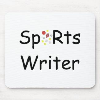 Periodista deportivo Mousepad Tapetes De Raton