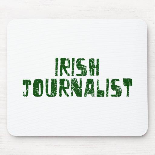Periodista irlandés tapetes de ratones