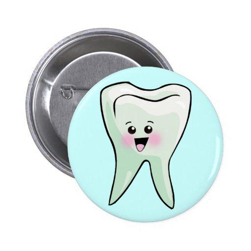 Periodontist del Orthodontist del dentista Pin Redondo De 2 Pulgadas
