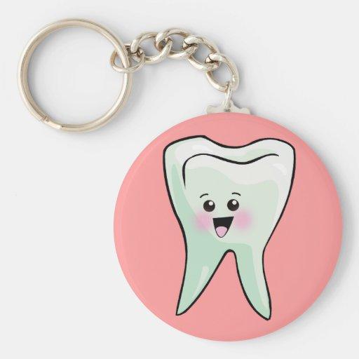 Periodontist Periodontics Periodontry Basic Round Button Keychain