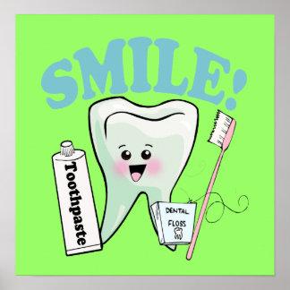 Periodontist Periodontics Periodontry Poster