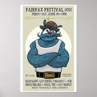 Peri's - Fairfax Festival 2012 Poster