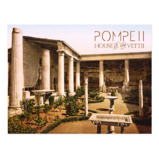 Peristyle of the House of the Vettii, Pompeii Postcard