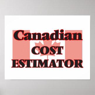 Perito canadiense del coste póster