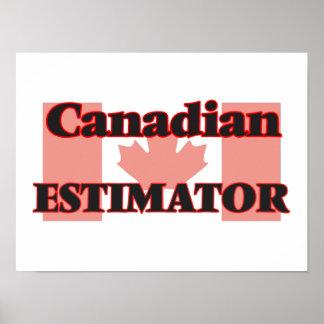 Perito canadiense póster