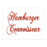 Perito de la hamburguesa tarjetas postales