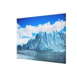 Perito Morena Glacier, Patagonia Canvas Print