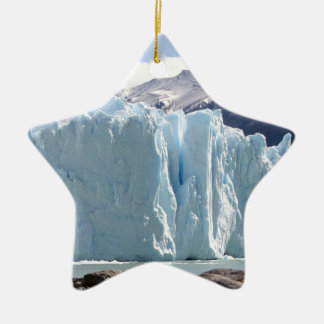 Perito Moreno Glacier, Argentina 2 Ceramic Ornament
