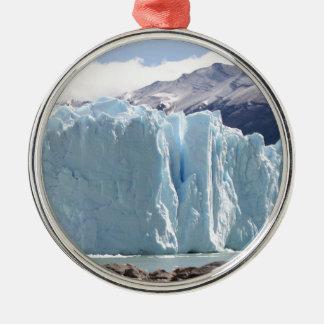 Perito Moreno Glacier, Argentina 2 Metal Ornament