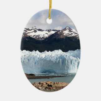 Perito Moreno Glacier, Argentina Ceramic Ornament