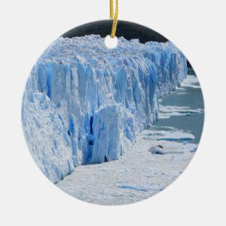 Perito Moreno Glacier Argentina Ceramic Ornament