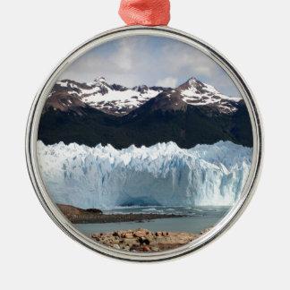 Perito Moreno Glacier, Argentina Metal Ornament