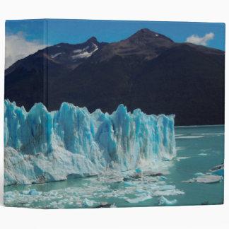 Perito Moreno Glacier Front In The Andes Binder