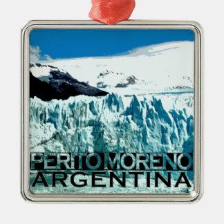 Perito Moreno Metal Ornament