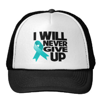 Peritoneal Cancer I Will Never Give Up Mesh Hat